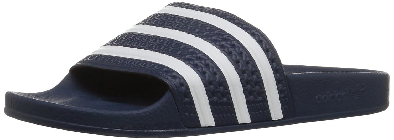 adidas Men's Adilette Slide Sandal B001N0FAO2 13 M US Adidas Blue/White/Adidas Blue