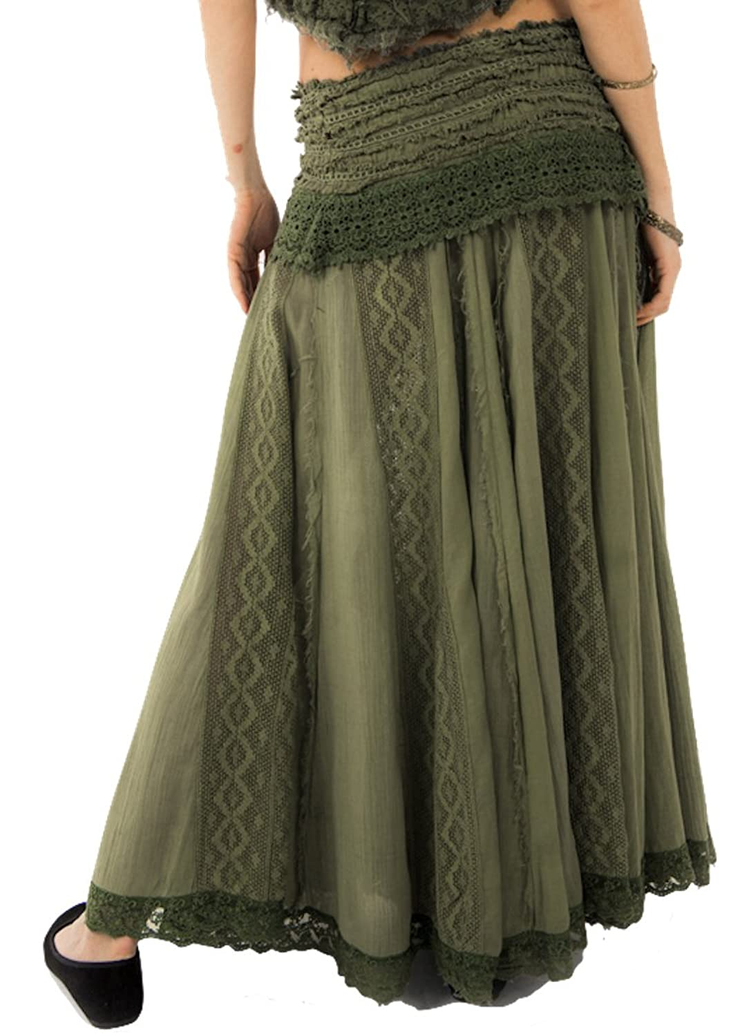 LONG SKIRT, FLAMENCO SKIRT, GYPSY SKIRT, GEKKO SKIRT