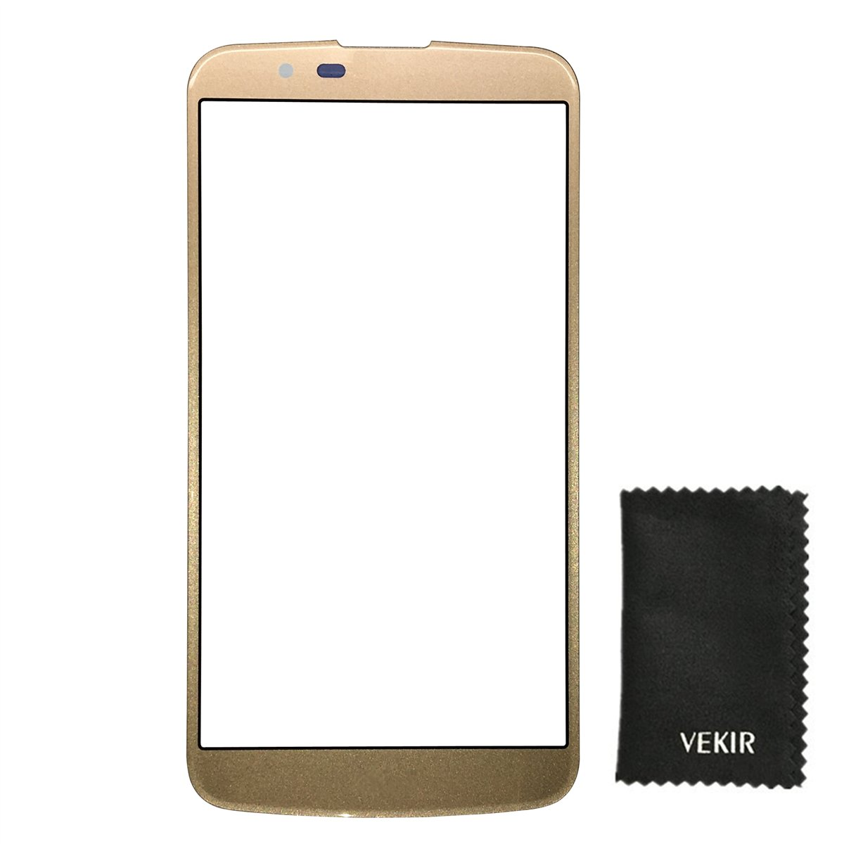 Outer Glass Screen Replacement Compatible with LG K10 K410F M2 K430T K420N K430DS K430(gold)