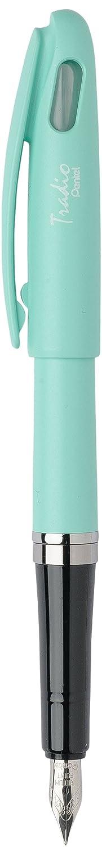Pentel verde Tradio Pastel – Lote de 12 bolígrafos pluma verde Pentel f7916d