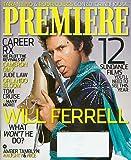 Will Ferrell - Blades of Glory Cover Premiere Magazine April 2007 Vol 20 #7