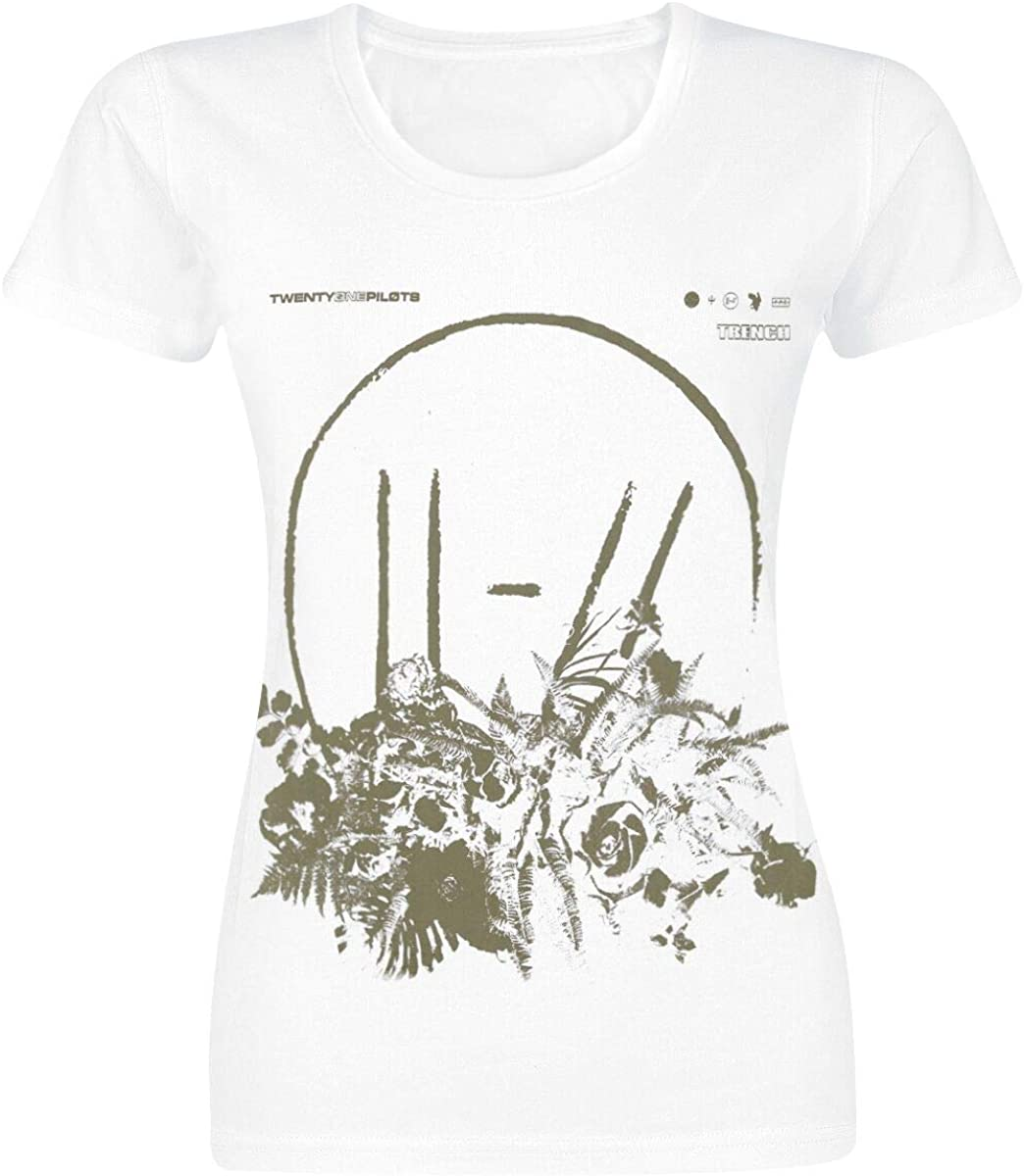 Twenty One Pilots Flower Bed Camiseta Blanco, Regular: Amazon.es: Ropa y accesorios