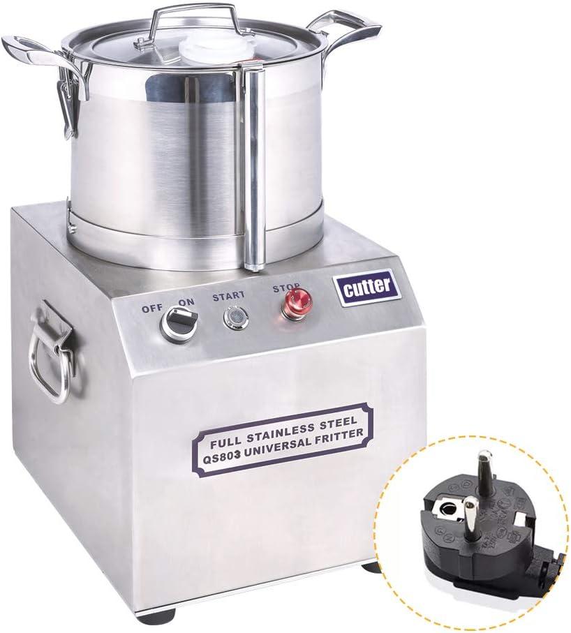 woobrit 6L Multi Función eléctrica Robot de cocina, universalzerkleinerer universal Licuadora, acero inoxidable Licuadora Agitador picar carne picadora Cocina dispositivos: Amazon.es: Hogar