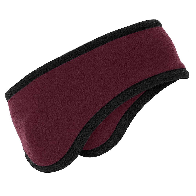 Two-Color Warm Winter Fleece Headband