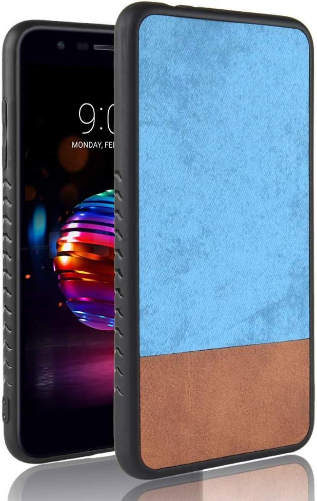 iHOY Funda HTC U13, Ultra Slim Thin Creative Special Design Denim Fabric Doble Color Thin Back Funda básica Diseño a Prueba de Golpes Volver Teléfono Cubierta para HTC U13: Amazon.es: Electrónica