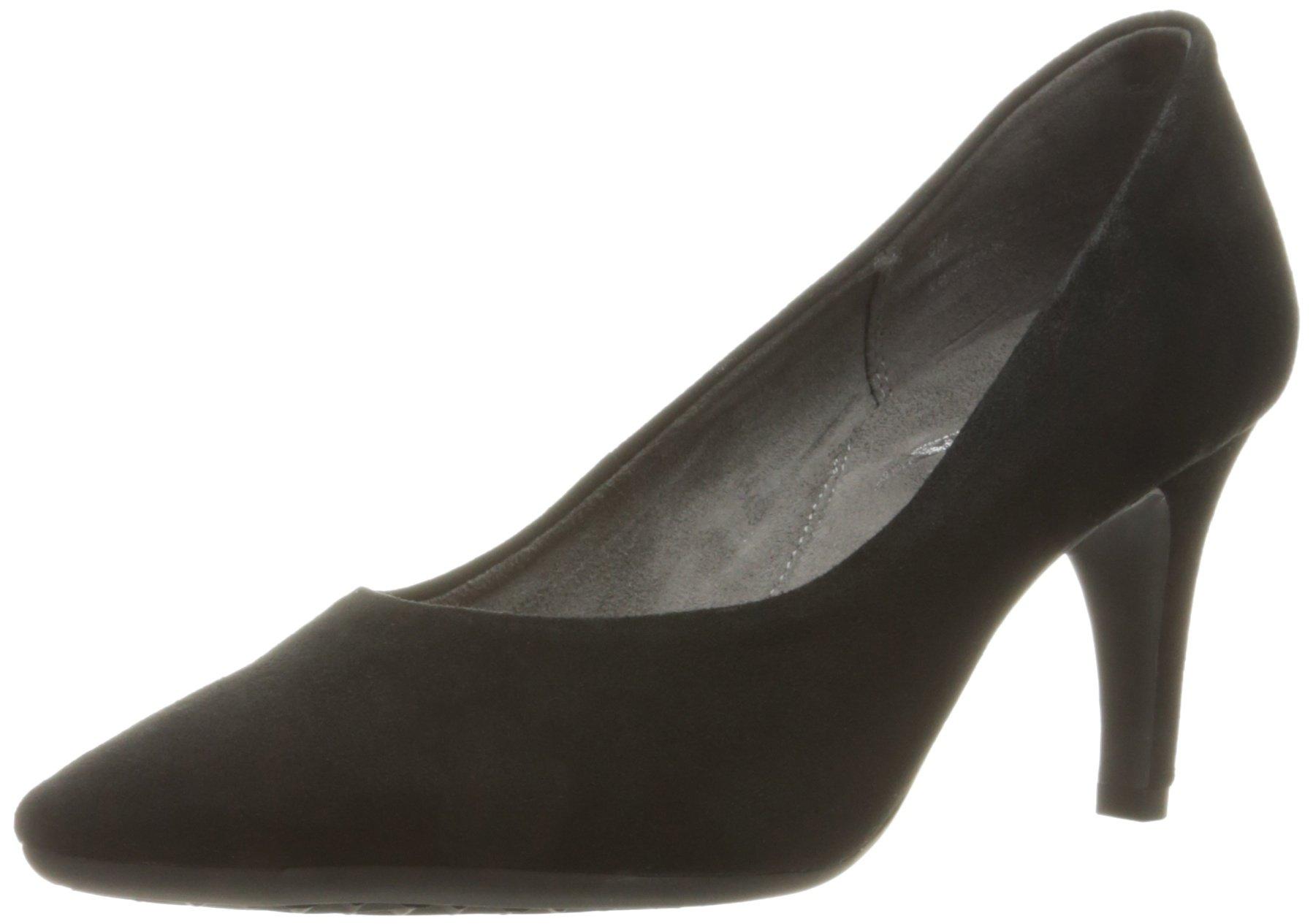 Aerosoles Women's Exquisite Dress Pump, Black Suede, 12 M US