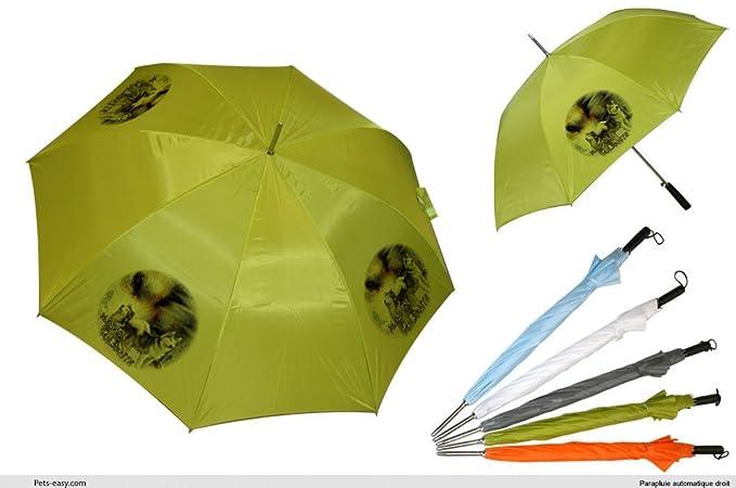 Paraguas de Golf Alaskan Malamute perro, color negro ...