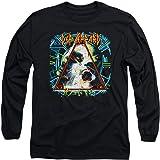 Popfunk Def Leppard 80s Rock Hysteria Album Logo Longsleeve T Shirt & Stickers
