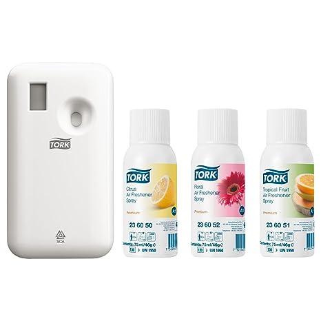 Tork – Set de ambientador de aire de 4 piezas, aroma, habitación Spray,