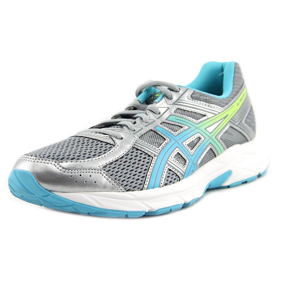 ASICS Women's Gel-Contend 4 Running Shoe B076YM12TH 11 B(M) US|Silver/Aquamarine/Sharp Green