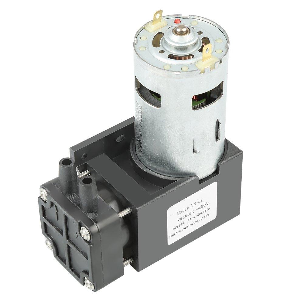 OKBY Vacuum Pump - 1pc DC12V 42W Mini Small Oilless Vacuum Pump -85KPa Flow 40L/min by OKBY (Image #1)