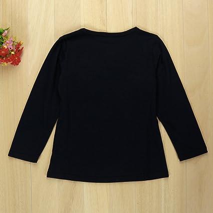 Conjunto de niña, Covermason Lindo Bowknot Decoración Camiseta y Raya Impresión Pantalones: Amazon.es: Ropa y accesorios