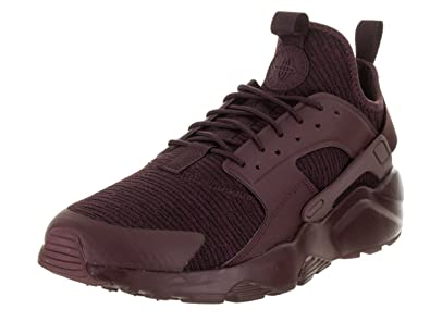NIKE Men s Air Huarache Run Ultra SE Deep Burgundy/Deep Burgundy Running Shoe 9.5 Men US