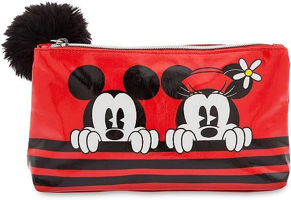 Bolsa de maquillaje de Mickey y Minnie Mouse: Amazon.es: Zapatos y complementos