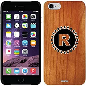 Coveroo iphone 6 4.7 Madera Wood Thinshield Case with Classy R Design