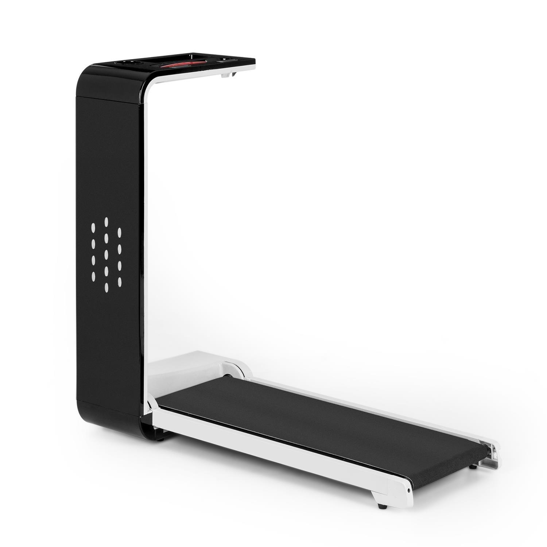 Klarfit Home Runtasy Tapis roulant Home Trainer LED Streaming wireless Bluetooth Pieghevole 1000W Archiviazione facile Arresto di emergenza Velocità regolabile 0,8-10 km/h Nero product image