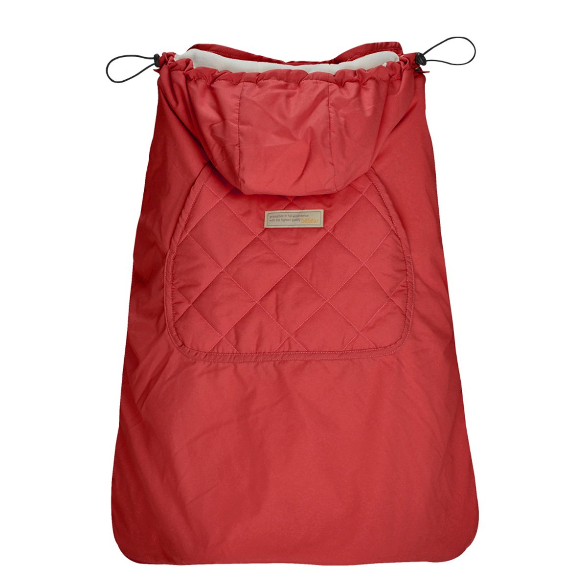 Bebamour Universal Hoodie All Season Carrier Cover for Baby Carrier (Red)