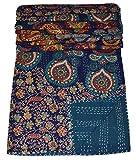 MAVISS HOMES Indian Handmade Multi Floral Printed