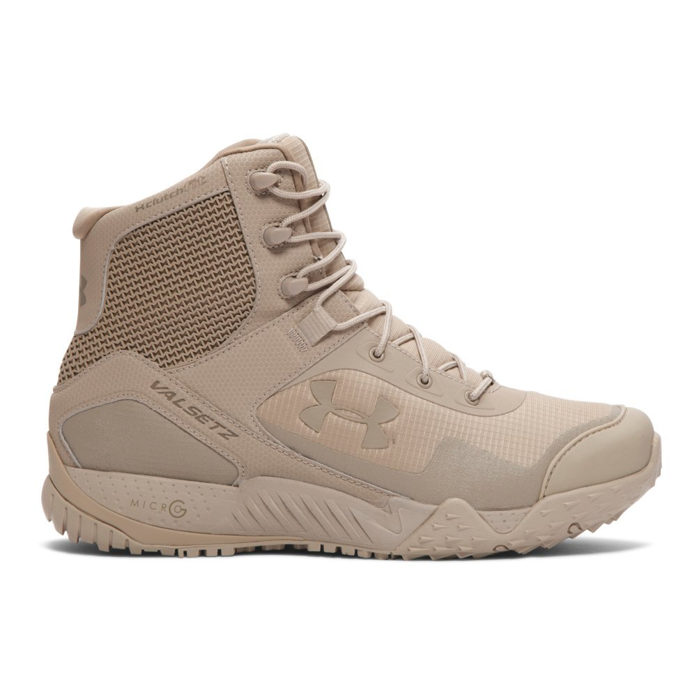 Under Armour Men's Valsetz RTS Military and Tactical Boot, (290)/Desert Sand, 12.5