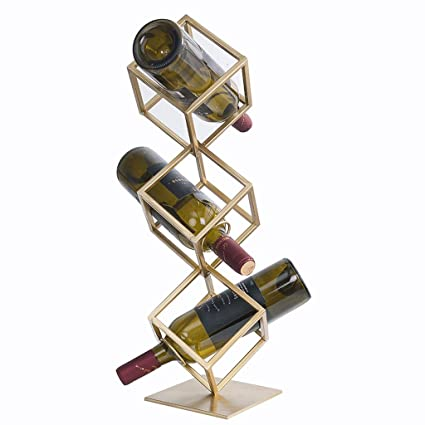 Ahora La Decoración Simple Del Estante Del Vino, Accesorios De Alta Calidad De Los Muebles