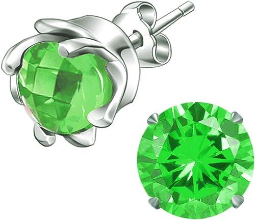 Diamante Me Emerald Green Flat Back Loose Rhinestones Gems 2,3,4,5,6mm AAA