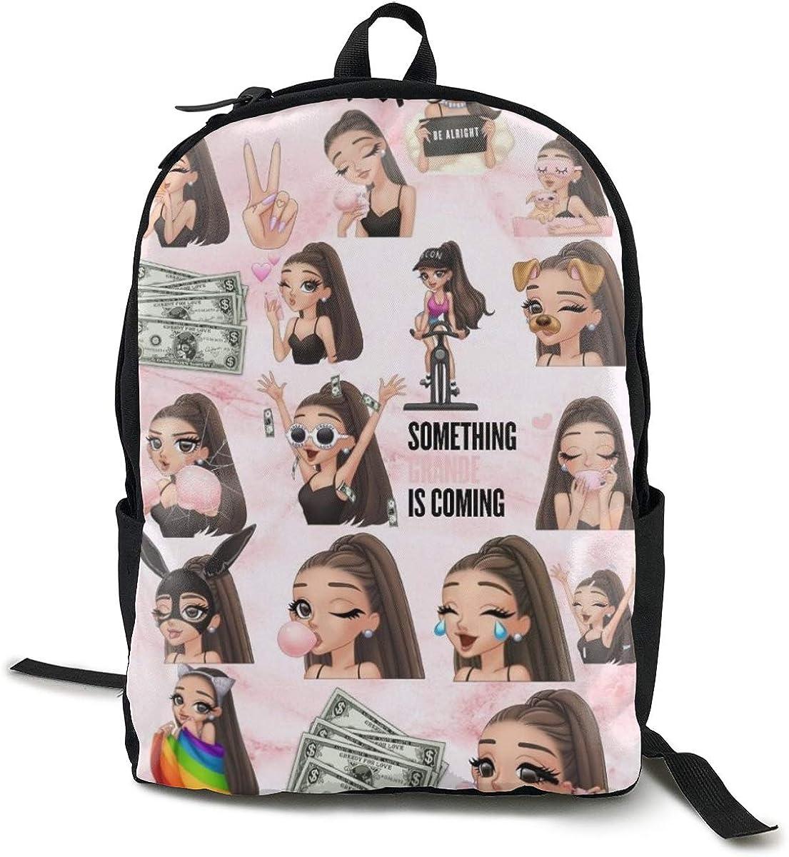 Unisex Leisure Student Durable Bookbag Canvas Travel Daypack For Boy Girl
