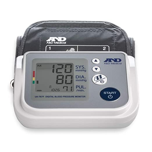 A&D Medical Upper Arm Blood Pressure Monitor for Up to 4 Users