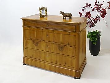 Antike Biedermeier Kommode Aus Kirschbaum Amazon De Kuche Haushalt