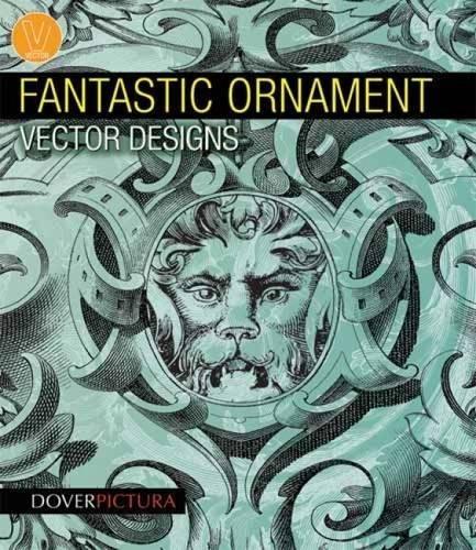 Fantastic Ornament Vector Designs (Dover Pictura Electronic Clip ()