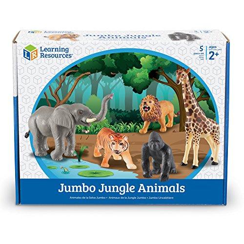 Learning Resources Jumbo Jungle Animals