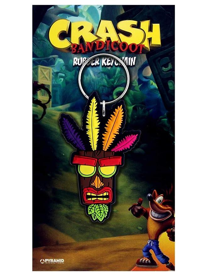 Crash Bandicoot - Llavero Aku Aku: Amazon.es: Videojuegos