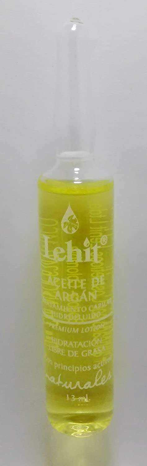 Amazon.com : LAS MEJORES AMPOLLAS PARA EL CABELLO -THE BEST AMPULE FOR THE HAIR - LEHIT MADE IN COLOMBIA (LEHIT ACEITE DE ARGAN) : Beauty