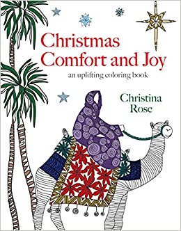 Book Christmas Comfort and Joy: An Uplifting Coloring Book