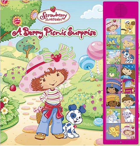 A Strawberry Shortcake Berry Picnic Surprise: Deluxe Sound Storybook