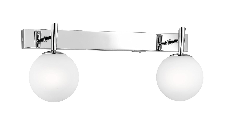 Trio-Leuchten 8801221-06 Applique salle de bain 40 watts Blanc 8801221-06_Cromo