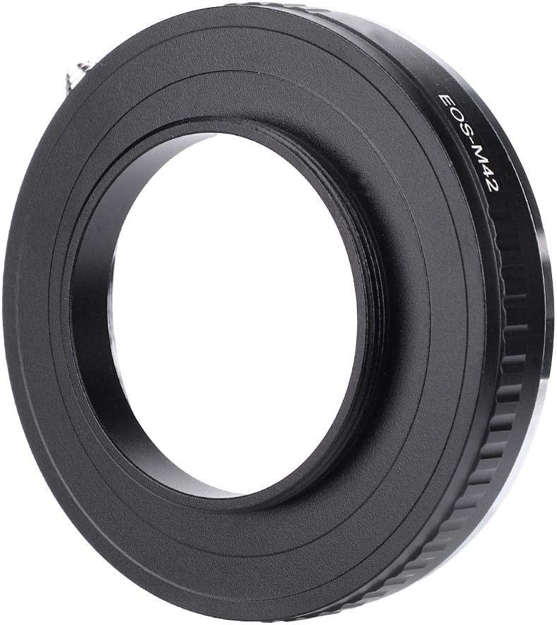Camera Mount Adapter for Canon EF//EF-S Mount Lens to M42 Mount Camera V BESTLIFE EOS-M42 Lens Adapter Ring
