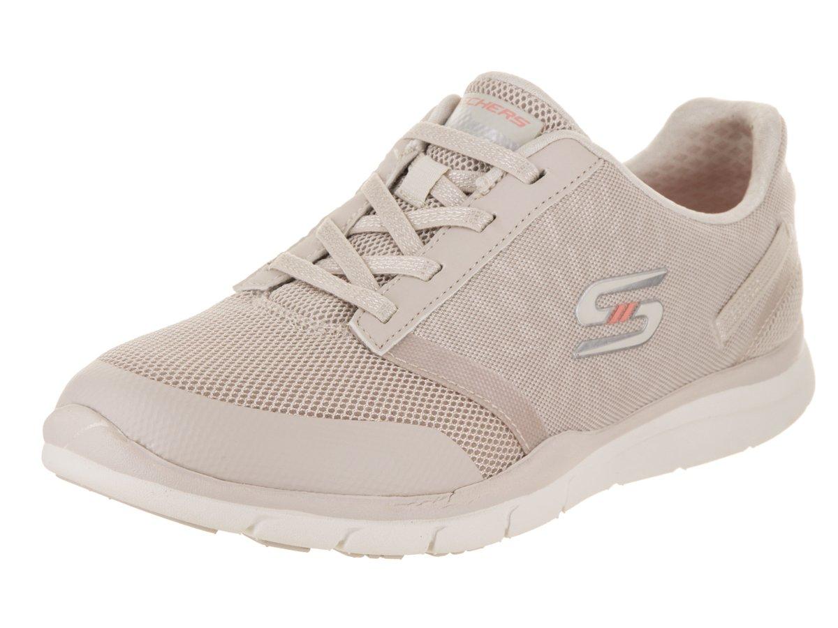 Skechers Gratis Cloud up to Speed Womens Slip On Sneakers B07DB82W2Z 9 B(M) US|Natural