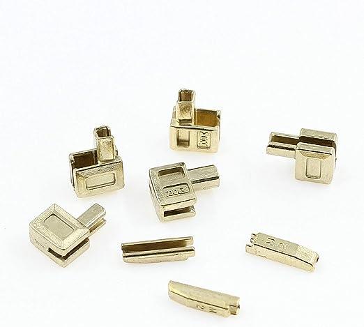Stopper für Endlos-Reißverschluss 6,5 mm Inhalt: 20 Stück