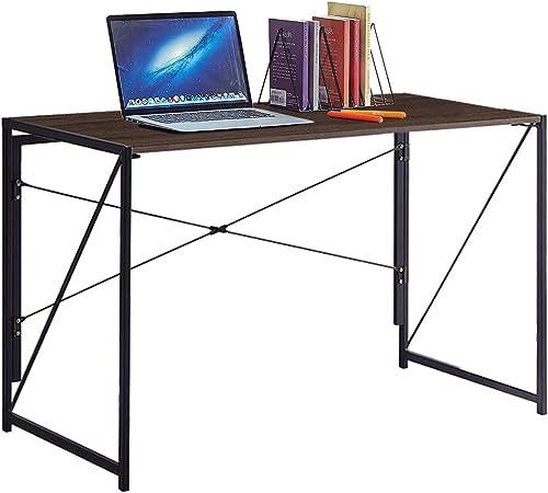 Best home office desk: Folding Computer Desk