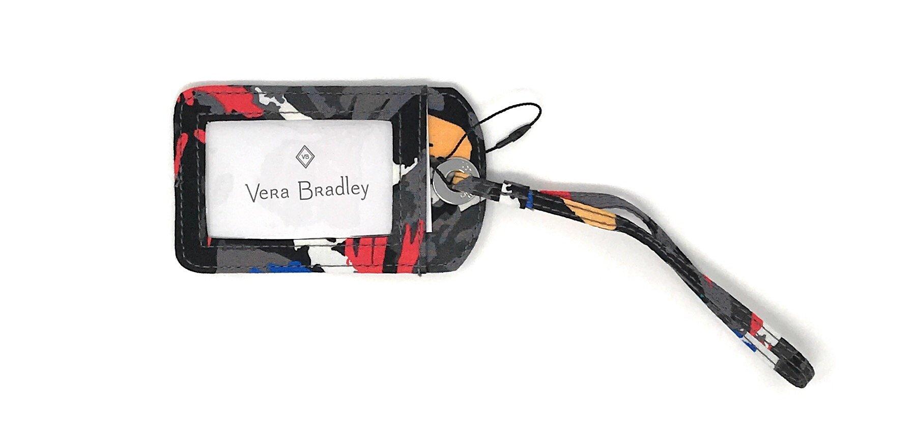 Vera Bradley Luggage Tag Splash Floral