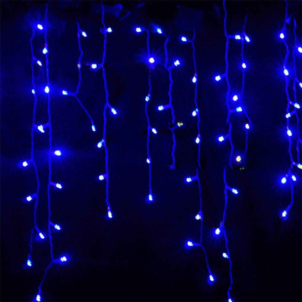 Weihnachtsdeko Lichter Innen.216 Led 5m Eisregen Eiszapfen Lichter Led Lichtervorhang Lichter