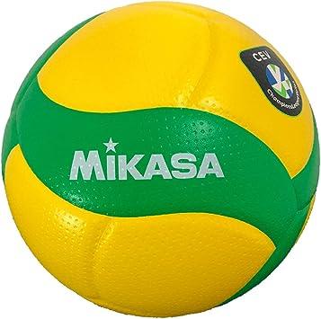 MIKASA V200W-CEV - Balón de Voleibol para Interiores: Amazon.es ...
