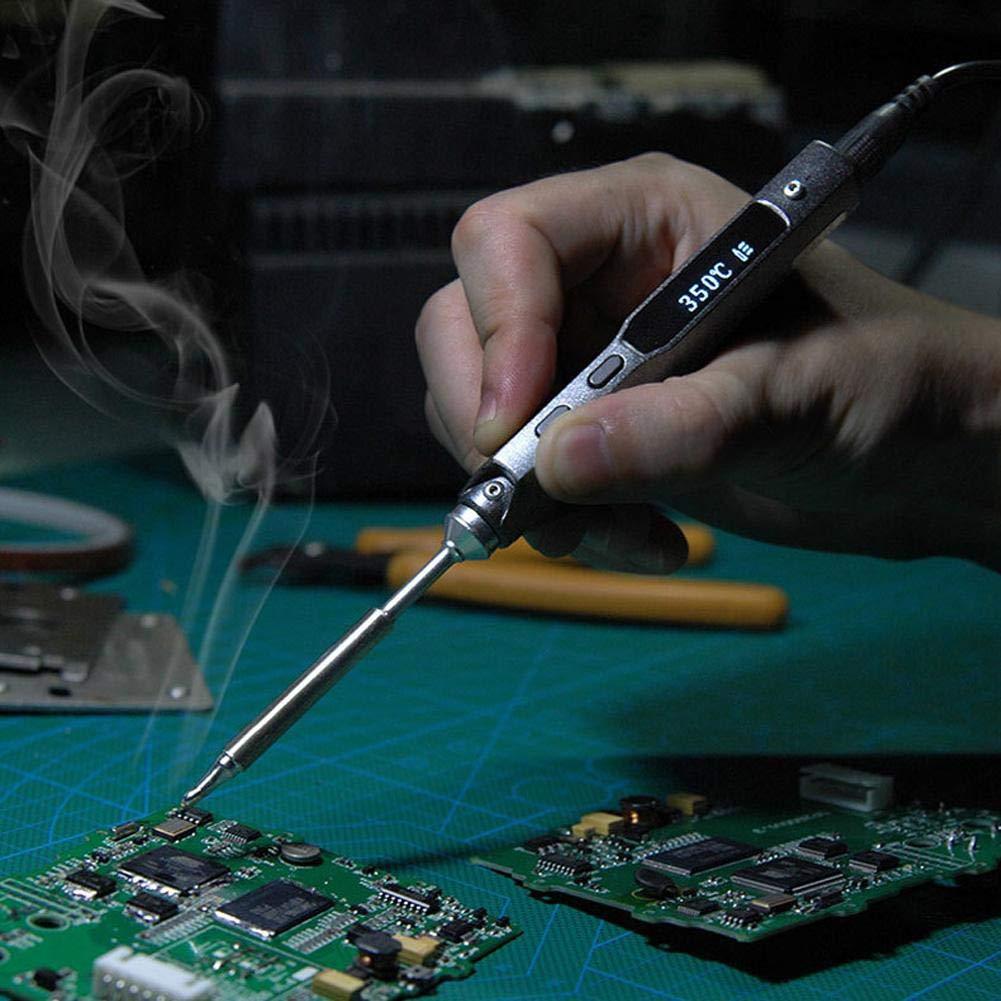 TS100 Elektrischer L/ötkolben tragbarer programmierbarer digitaler digitaler elektrischer L/ötkolben TS100-I