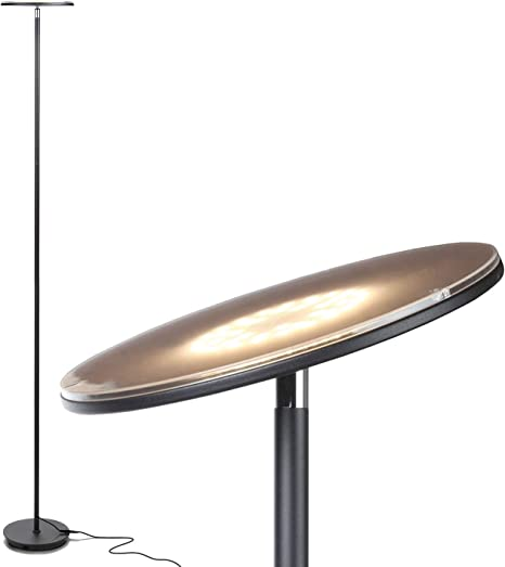 Chargeable Super Portable Task Floor Lamp for Living Room or Office Brightech Battery Plus Contemporary Standing Lighting Bedroom