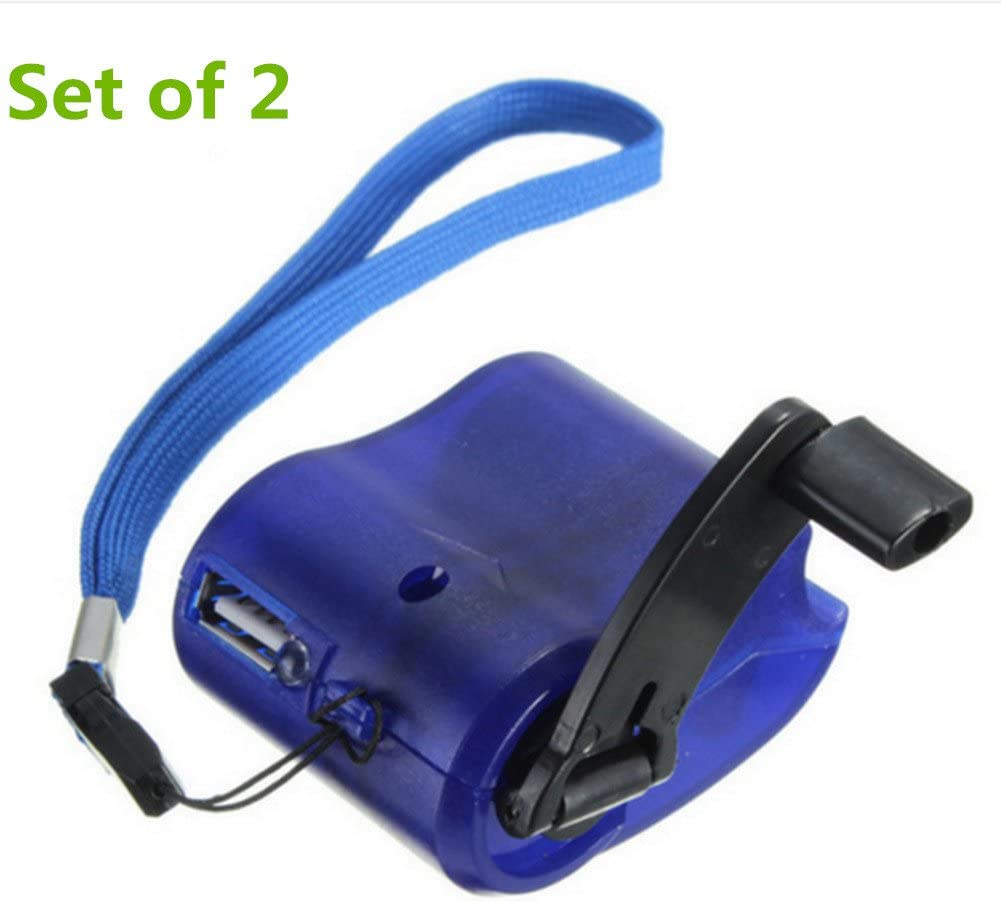 Mini Dynamo USB Portable Handkurbel Notfall Ladegerät Generator Für Handy Phone