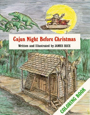 Cajun Night Before Christmas Coloring Book (The Night Before Christmas Series)