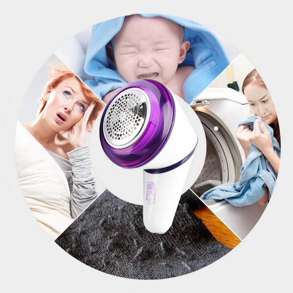 Hang-Dressers Fabric Shaver Professional Rechargeable Sweater Shaver Pill Remover Fabric Shavers for Furniture, Clothes, Lint Fuzz, Fleece, Bobble, Curtains