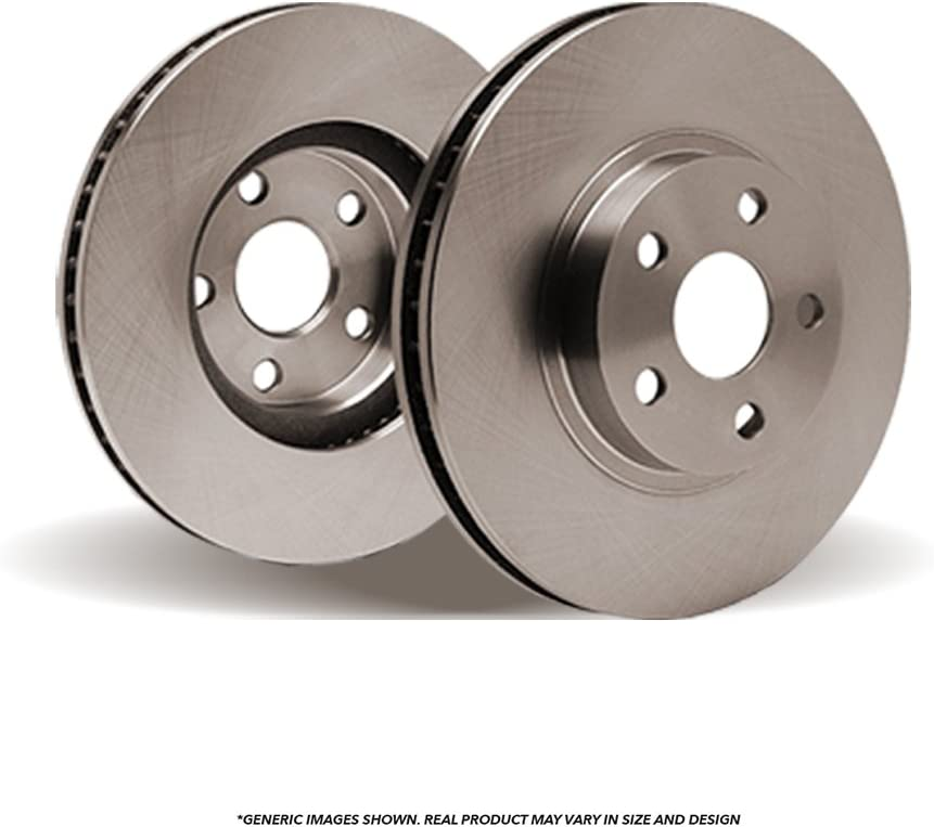 2 Disc Brake Rotors Fits: 3 3 Sport Perfect-Series OE SPEC Rear Rotors 5lug