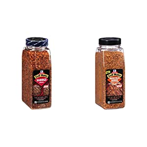 McCormick Grill Mates Hamburger Seasoning, 24 oz & Brown Sugar Bourbon Seasoning, 27 oz