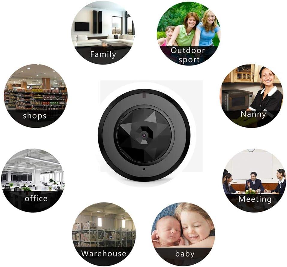 Tbdlg Spy Camera, 1080P Hd Wifi Hidden, Small Wireless Zuhause Security Surveillance Cameras mit Night Vision, Motion Detection